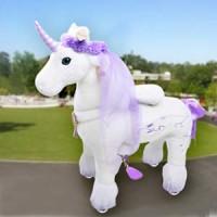 Ponycycle Luxe Eenhoorn (Groot formaat)