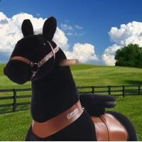 Ponycycle zwart (Groot formaat)
